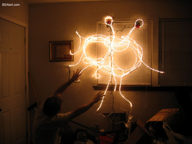 Make Your Own Flying Spaghetti Monster Holiday Lights